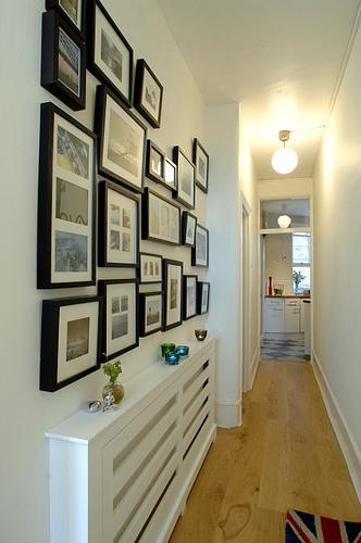 Uma parede cheia de memórias e personalidade