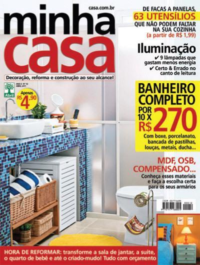 A Meu Móvel de Madeira na revista Minha Casa
