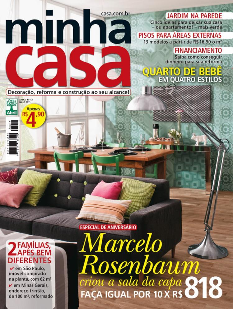 Meu Móvel de Madeira na revista Minha Casa