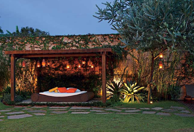 fazer iluminacao jardim:Áreas externas – Minha casa, Minha cara