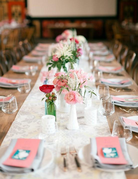 Decore sua mesa de jantar