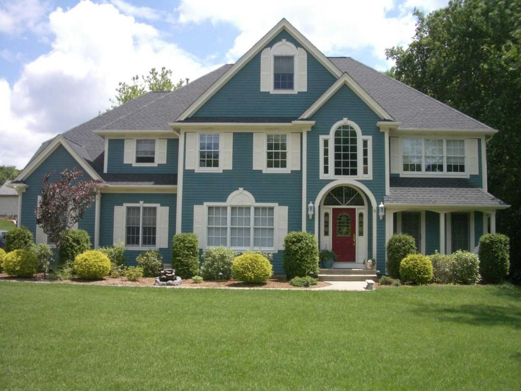 Pergunte aos universit rios - Green exterior house color ideas ...