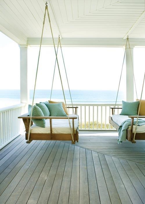 Cuidando da casa de praia