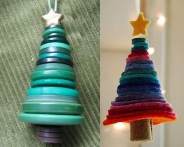 Enfeites de Natal Sustentáveis