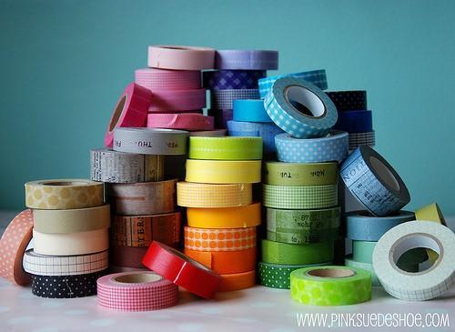 Washi Tape na decoração