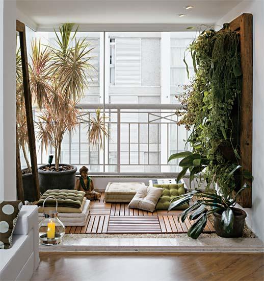 Plantas para sua varanda