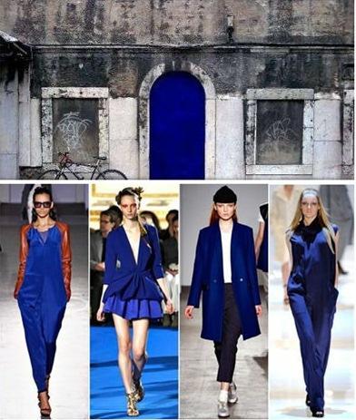 Inspiração do dia: Azul Klein