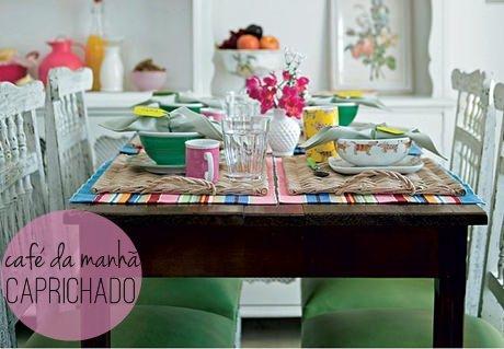 Prepare uma deliciosa mesa de café da manhã para o paizão