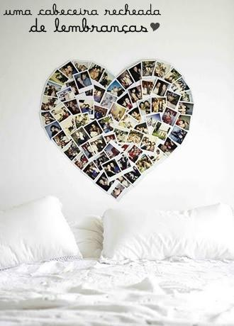 Formas inusitadas de decorar com fotos