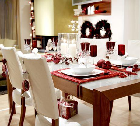 Prepare sua sala de jantar para o Natal