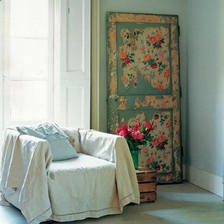 Porta antiga, nova decoração