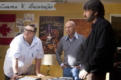 Cinema X Decoração: Argo