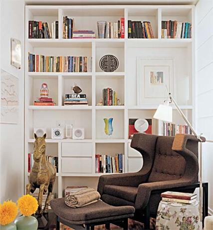 Como organizar seus livros -