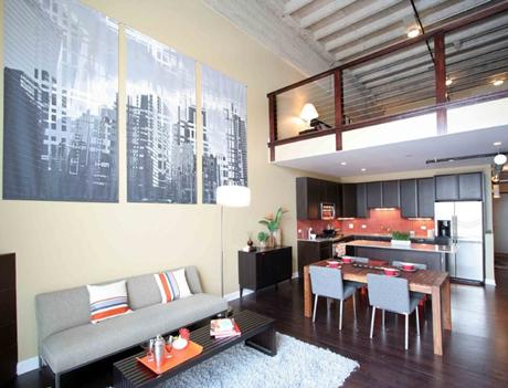 A beleza dos lofts