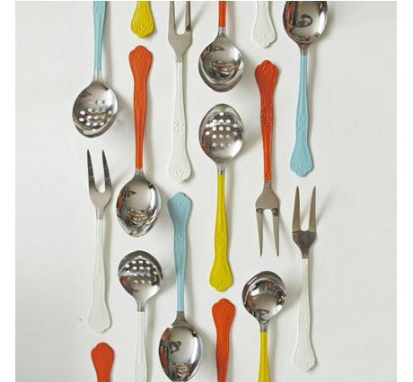 painted-flatware-silverware