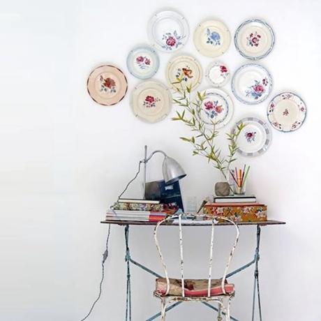 001-decoracao-vintage-com pratos
