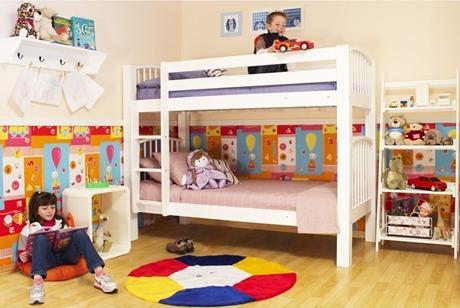 Um quarto, duas crianças