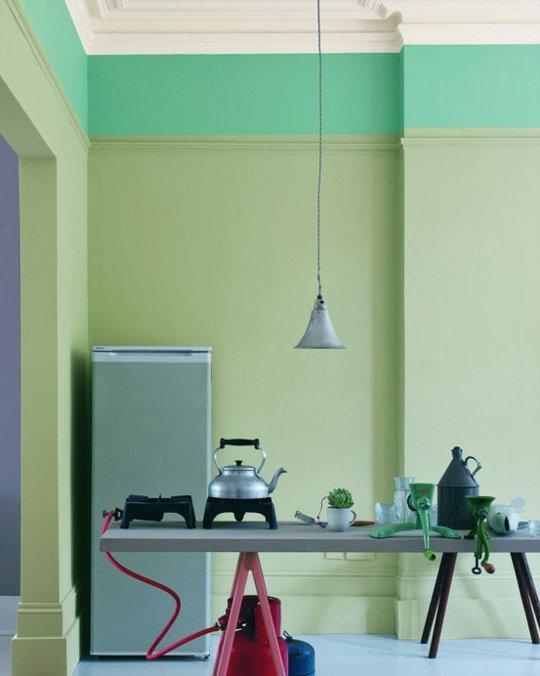 Pinturas inusitadas na parede - Combinar colores para pintar paredes ...