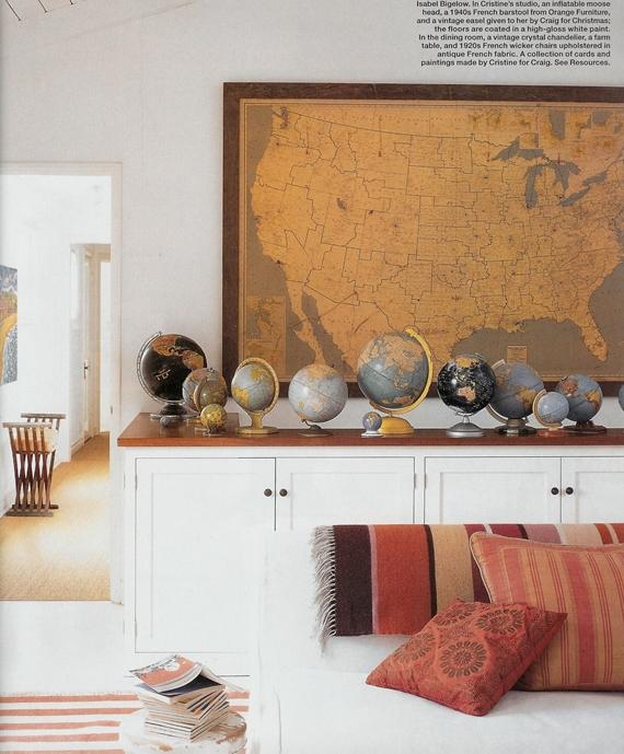 vintage-map-decor