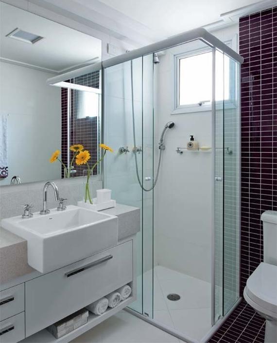 Dicas para decoração do banheiro -> Dicas De Decoracao De Banheiro Com Banheira
