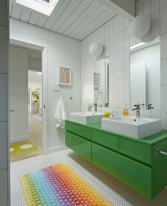 Dicas para decoração do banheiro -> Decoracao De Banheiro Com Cuba Vermelha