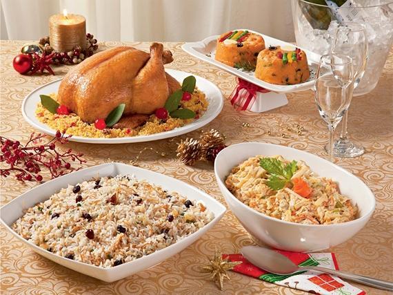 Preparando as comidinhas natalinas