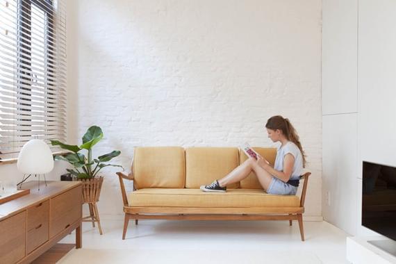 wonen: mini studio  foto: Lisa Van Damme