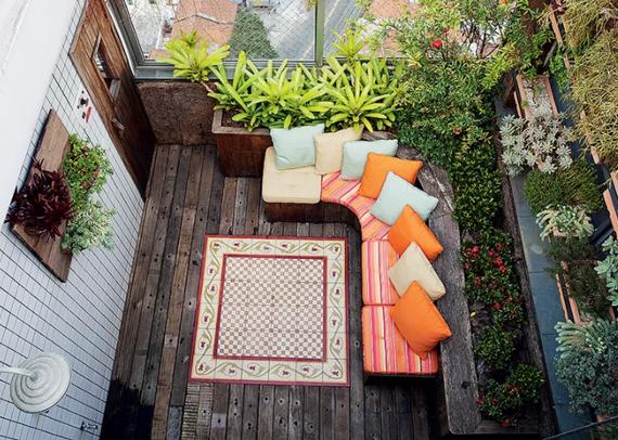 jardim vertical terraco:você, de que forma decorou as áreas externas da sua casa neste