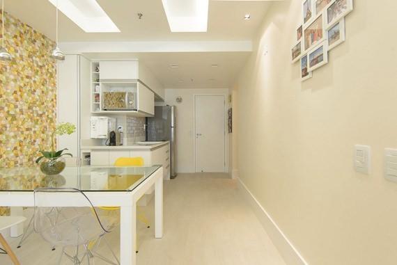 Um flat de 45m² em Copacabana