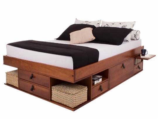 produto da semana cama de casal bali. Black Bedroom Furniture Sets. Home Design Ideas