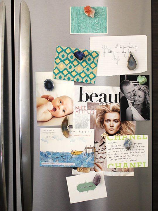 diy fridge magnets crystal agate _mini