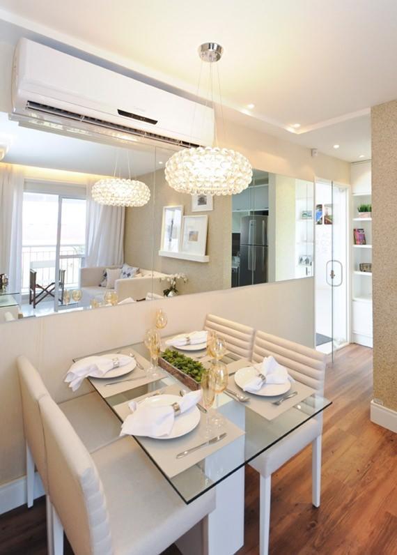 Mesa quadrada ou mesa redonda for Mesas para apartamentos pequenos