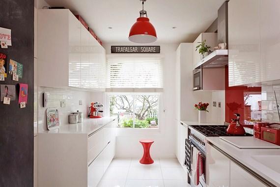 Cozinha do tipo corredor