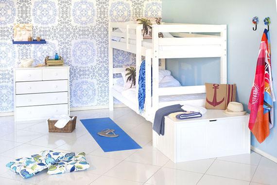 quarto de praia