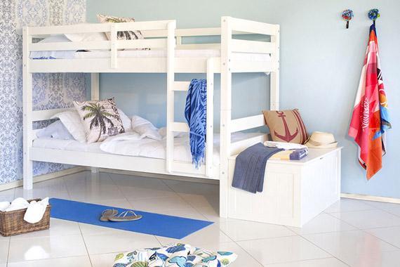 quarto para duas pessoas para casa de praia