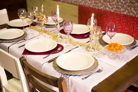 decore a mesa para o Natal!