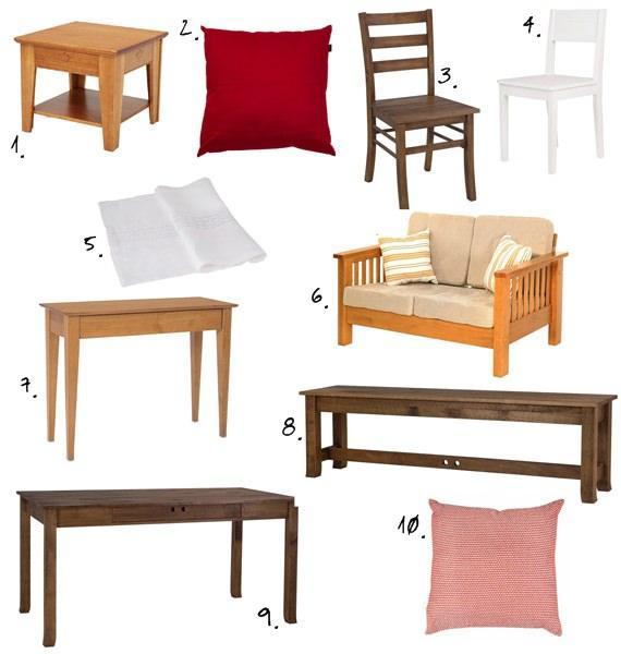 móveis ideais para decorar a sala de jantar