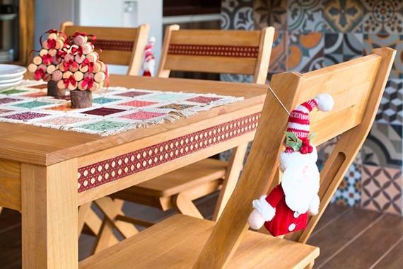 Decore sua mesa de Natal com enfeites e acessórios feitos por você!