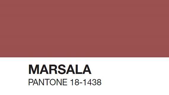 Pantone apresenta Marsala, a cor de 2015