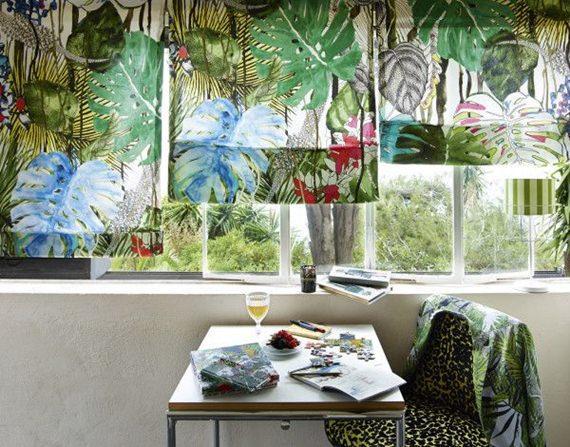 Tendência tropical na decoração