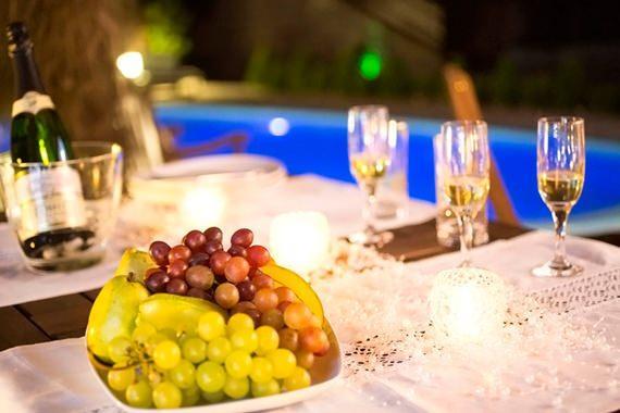 Frutas decoram e colorem a mesa do Ano Novo