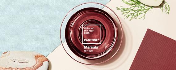Marsala é uma cor quente, a mistura do vermelho com o marrom.