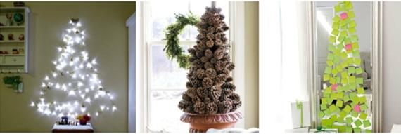 Pinheiros de Natal alternativos