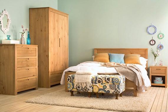 Quarto de casal aconchegante for Mobilia quarto casal usada