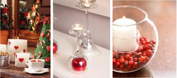 Decore sua casa com velas neste Natal! Baratas e fáceis de personalizar.
