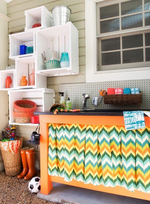 Como decorar uma lavanderia # Decorar Cozinha Diy
