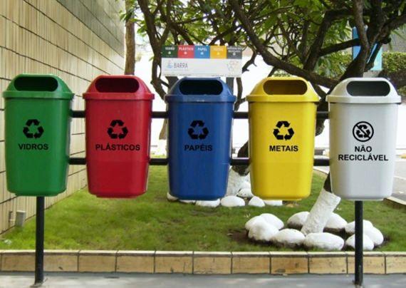 Separação do lixo