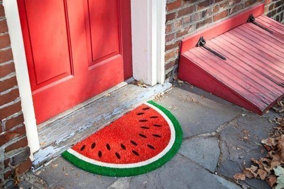 Capacho de melancia