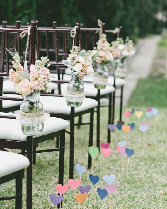 Casamento decorado com DIY
