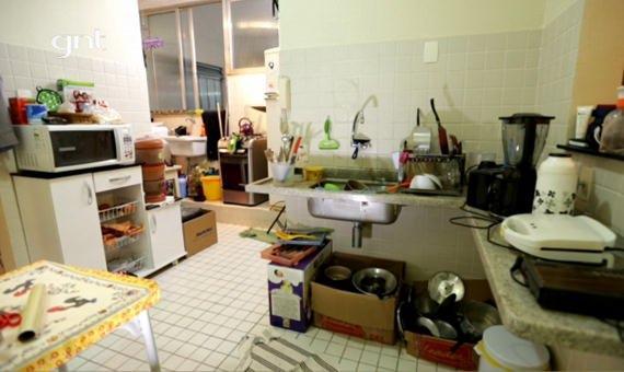Cozinha americana no Santa Ajuda do GNT